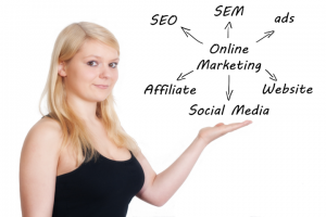 A demonstration of how SEO works for page ranking.